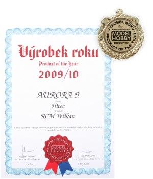 /><br /><br />Aurora 9 byla oceněna vysílačem roku 2010 a to již po necelých 6 měsících na trhu. <img src=